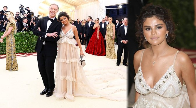 Selena Gomez – 2018 MET Gala in New York