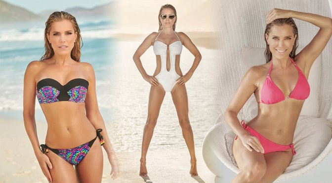 Sylvie Meis – Sylvie Flirty Swimwear Photoshoot