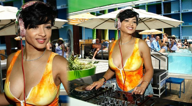 Tori Brixx – DJ set by THE POOL at The LINQ Hotel in Las Vegas
