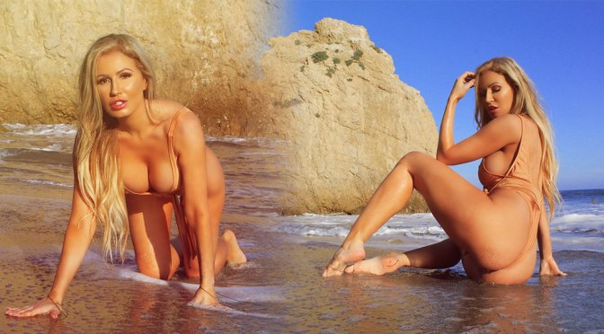 Ana Braga – Swimsuit Photoshoot in Malibu