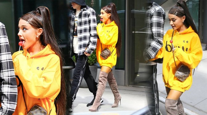 Ariana Grande Sexy Boots