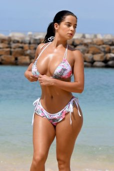 Demi Rose Mawby Bikini Thong
