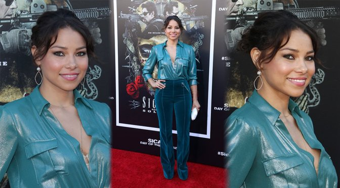 "Jessica Parker Kennedy – ""Sicario: Day Of The Soldado"" Premiere in Westwood"