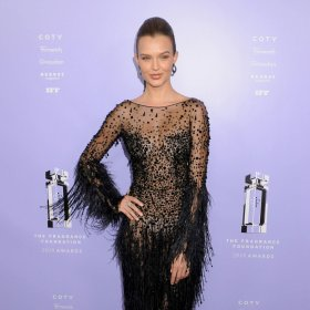 Jospehine Skriver Sexy Black Dress