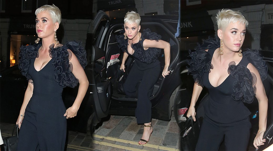 Katy Perry - Candids in London