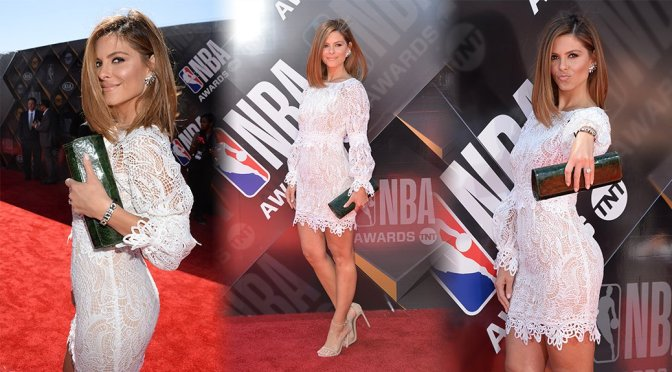 Maria Menounos – 2018 NBA Awards in Santa Monica