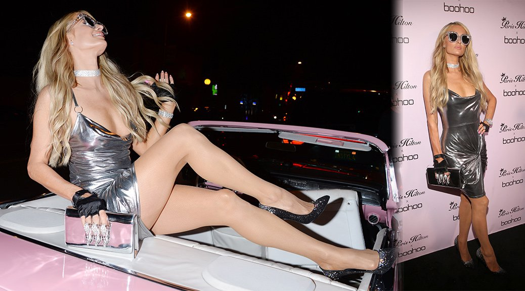 Paris Hilton -  Boohoo Official Launch Party in West Hollywood
