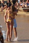 Izabel Goulart Thong Bikini