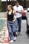 Jennifer Lopez Braless