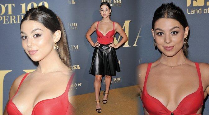 Kira Kosarin – Maxim Hot 100 Experience in Los Angeles