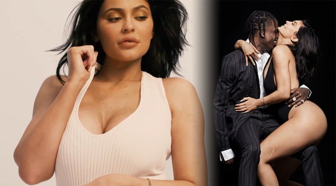 Kylie Jenner Sexy Boobs And Thighs For Gq