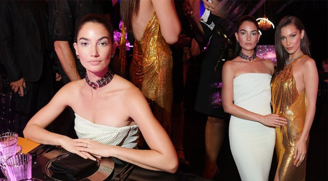 Lily Aldridge – BVLGARI Dinner & Party in Rome