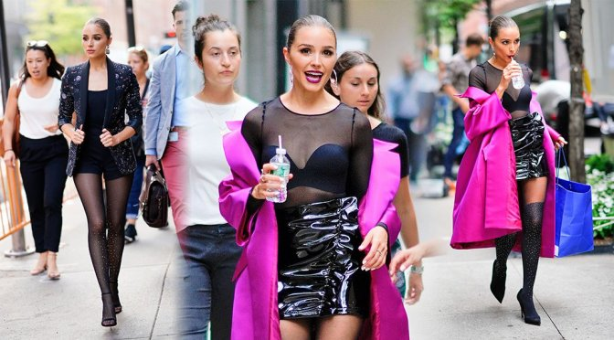 Olivia Culpo – Sexy Photoshoot Candids in New York