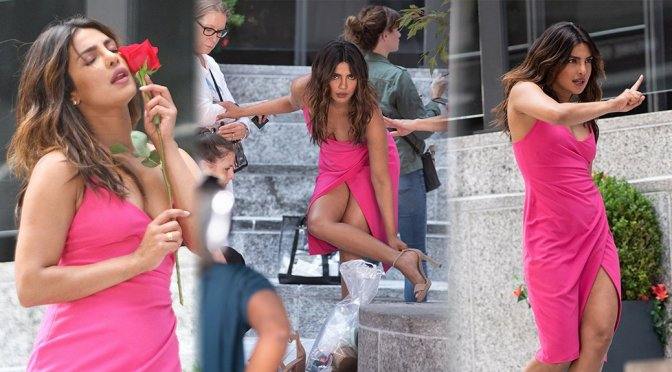 "Priyanka Chopra – ""Isn't It Romantic"" Movie Set in New York"