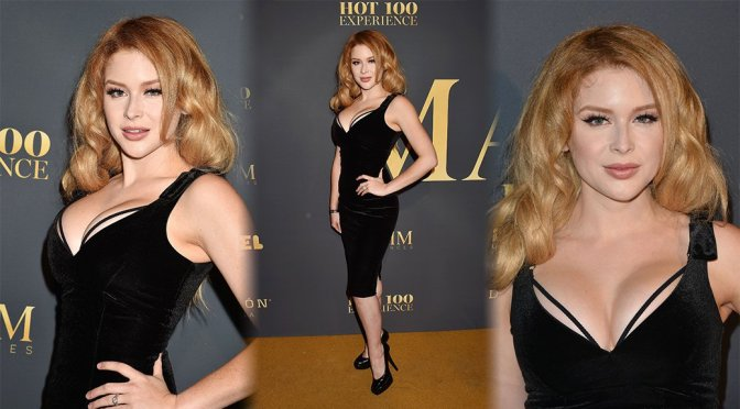 Renee Olstead – Maxim Hot 100 Experience in Los Angeles