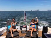 Selena Gomez Bikini On Yacht