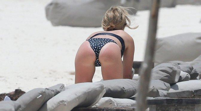 Ashley Tisdale – Bikini Candids in Tulum