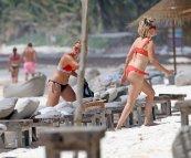 Ashley Tisdale In A Bikini In Mexico
