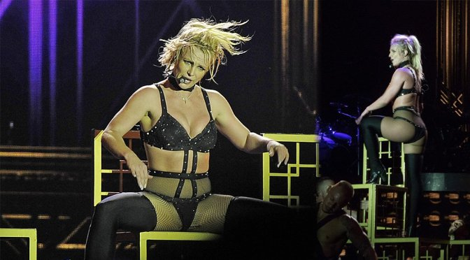 Britney Spears Performing Live in Brighton