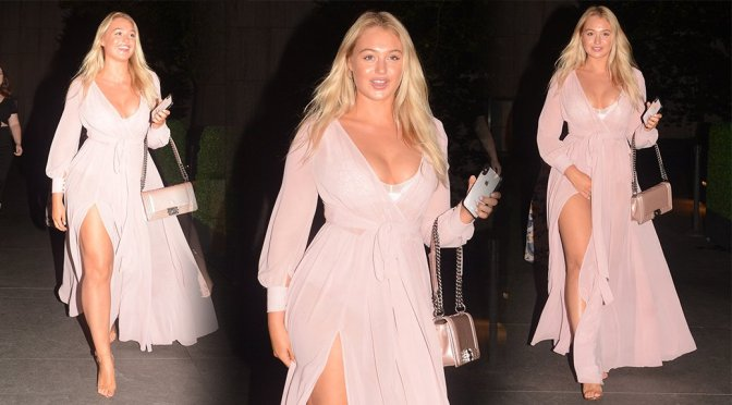 Iskra Lawrence – Leggy Candids in New York