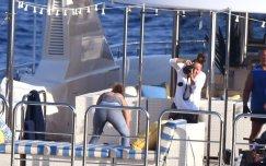 Jennifer Lopez Swimsuit On Yacht