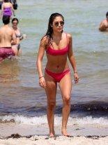 Jocelyn Chew Bikini On Beach In Miami