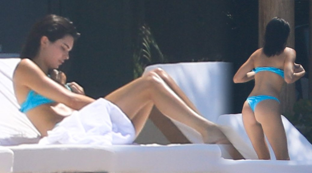 Kendall Jenner - Bikini Candids in Puerto Vallarta