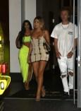 Kim Kardashian Upskirt In Miami