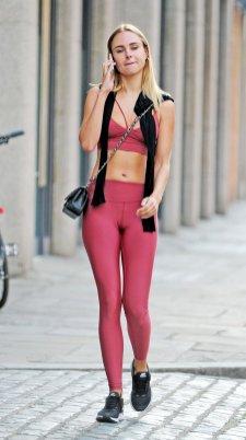 Kimberley Garner Sexy In London