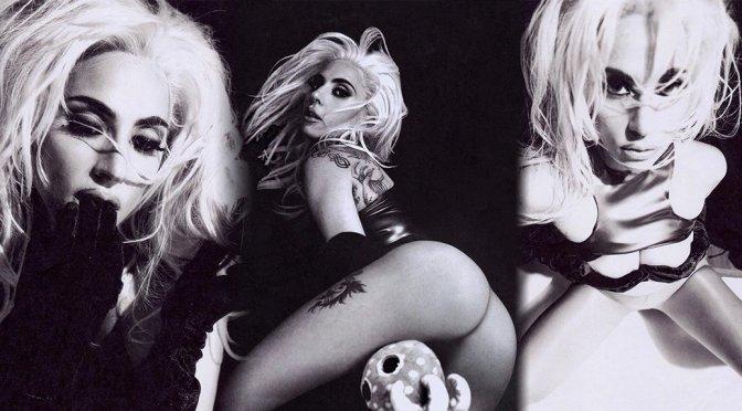 Lady Gaga – Sexy Black and White Photoshoot