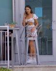 Olivia Culpo Sexy Shots Dress In Miami