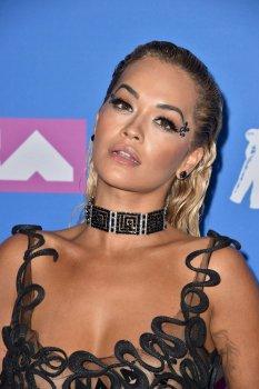 Rita Ora Braless Exposing Her Nipples And Ass
