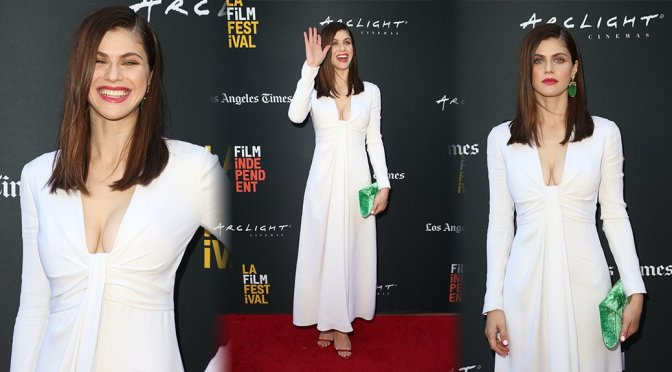 """Alexandra Daddario – """"We Have Always Lived In The Castle"""" Premiere in Los Angeles"""