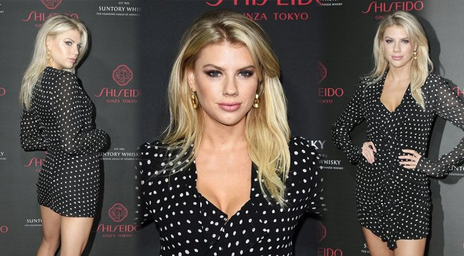 Charlotte McKinney – Shiseido Makeup Launch Party in Los Angeles