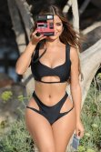 Demi Rose Mawby Curvy Body In Bikini