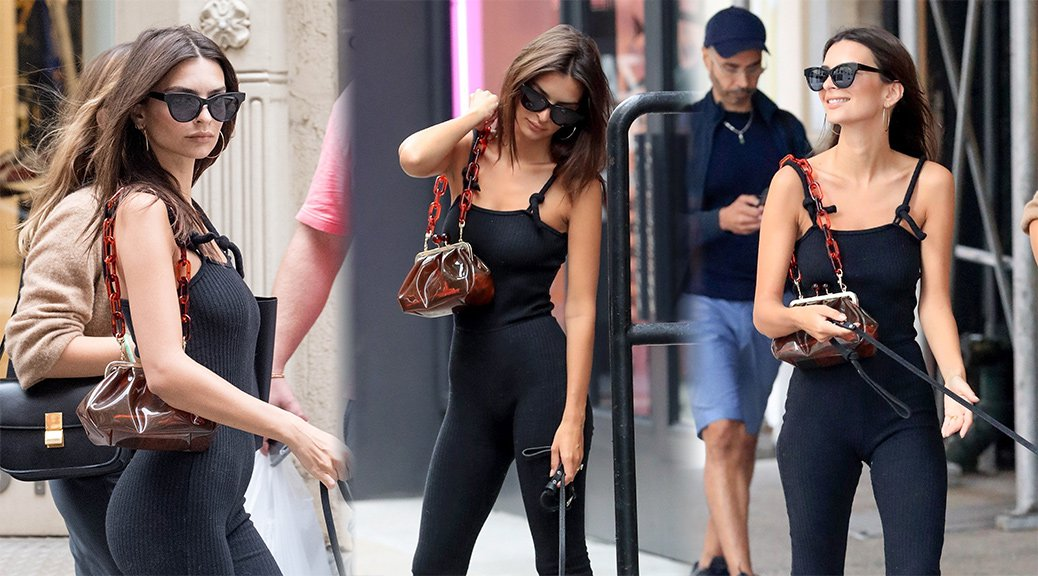 Emily Ratajkowski - Candids in New York
