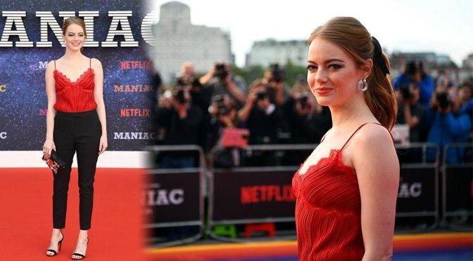 "Emma Stone – ""Maniac"" Premiere in London"