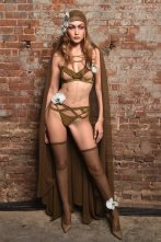 Gigi Hadid Sexy Fenty Lingerie