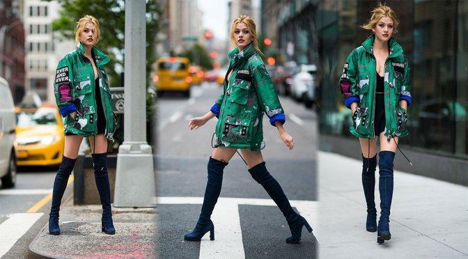 Katherine McNamara – Sexy Candids in New York