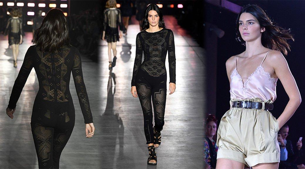Kendall Jenner - Alberta Ferretti Fashion Show in Milan