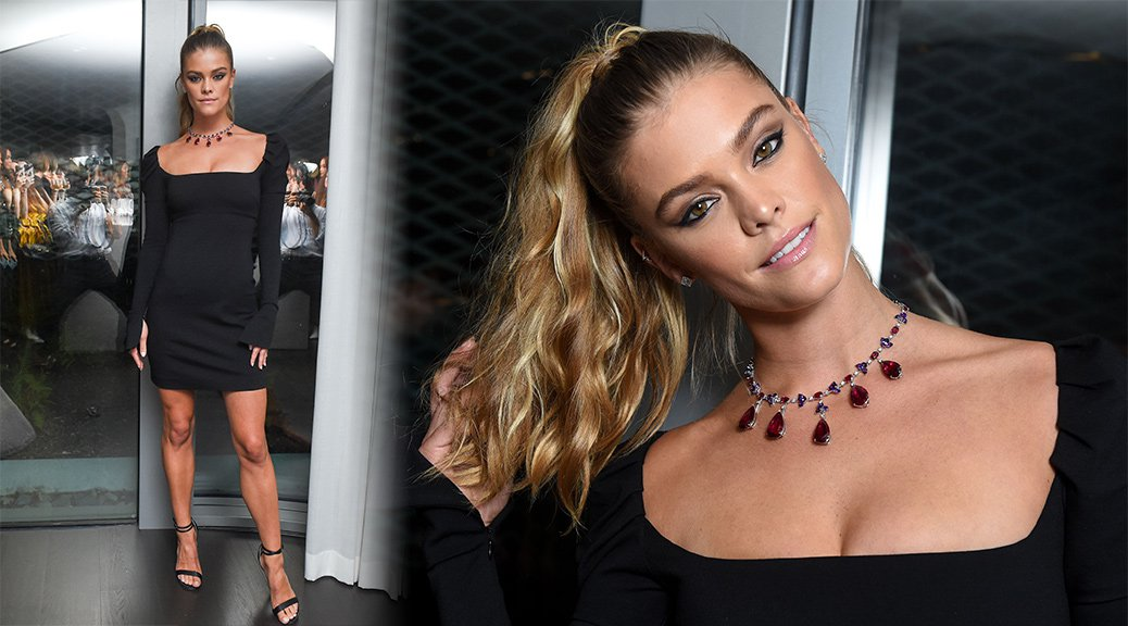 Nina Agdal - Naeem Khan and Chopard Dinner in New York