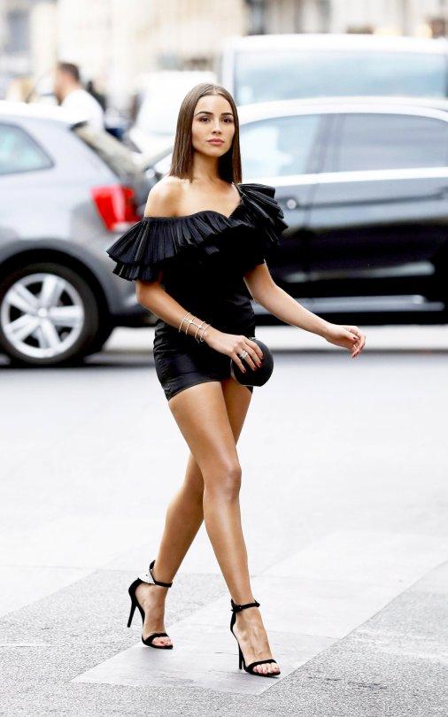 Olivia Culpo Little Black Dress