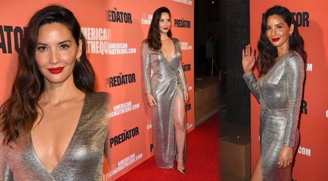 "Olivia Munn – ""The Predator"" Premiere in Hollywood"