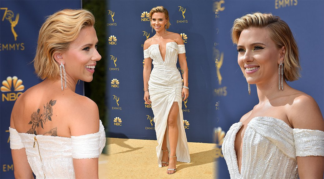 Scarlett Johansson - 70th Emmy Awards in Los Angeles