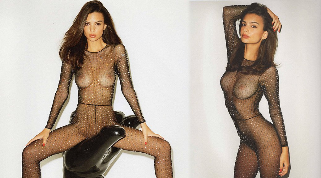 Emily Ratajkowski - Naked Photoshoot by Terry Richardson (NSFW)