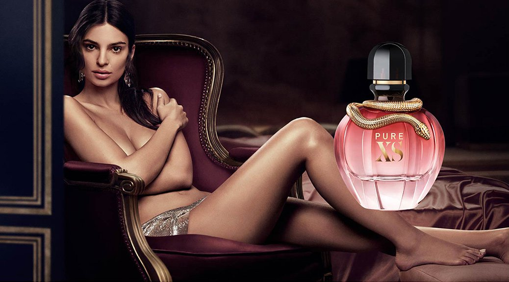 "Emily Ratajkowski - ""Pure XS for Her"" Paco Rabanne's Perfume Campaign"