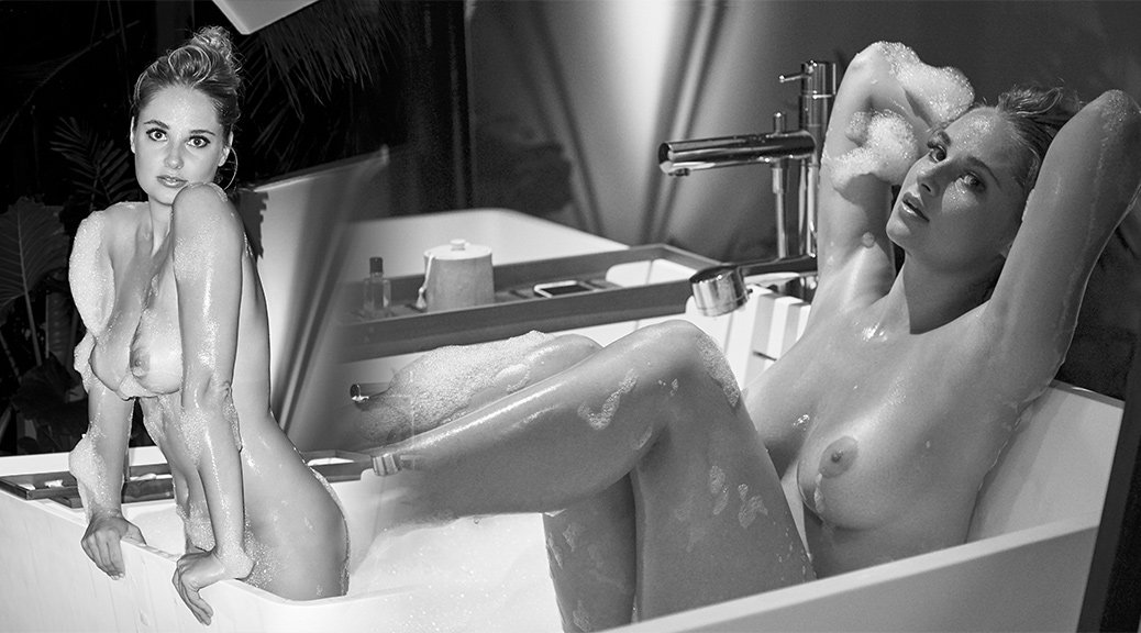 "Genevieve Morton - ""Nude in a Bathtub"" Photoshoot by Derek Riker (NSFW)"