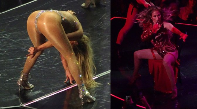 Jennifer Lopez Performing Live in Las Vegas