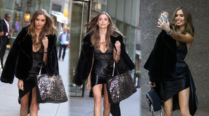Josephine Skriver – Sexy Candids in New York
