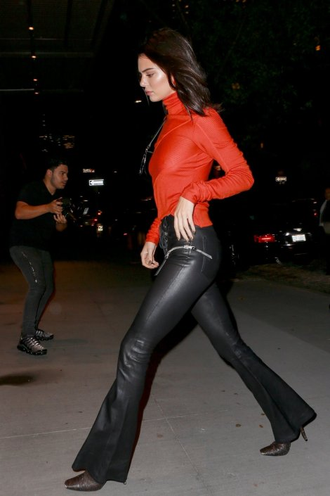 Kendall Jenner Braless Sexy Boobs